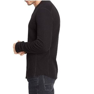 Vince Cotton Double Knit Pullover Large